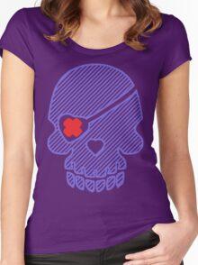 Silverlock Flag Women's Fitted Scoop T-Shirt