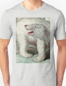 Vintage Polar Bear Illustration T-Shirt