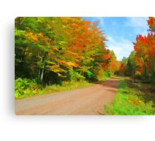 Country Road,......Take Me Home,...... Canvas Print