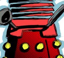 Dalek Kitty Empire Sticker