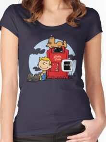 Dogmuts Women's Fitted Scoop T-Shirt