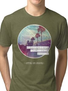 The Vonnegut - Palm Trees Tri-blend T-Shirt