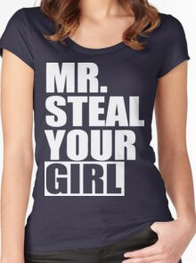 Mr. Steal Your Girl  Women's Fitted Scoop T-Shirt
