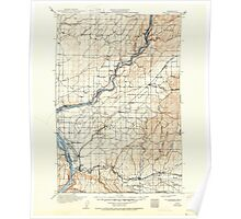 USGS Topo Map Washington State WA Wallula 244519 1918 125000 Poster