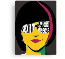 Feminist Voice Canvas Print