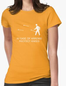 In case of arrows Womens Fitted T-Shirt