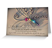 January 2013 - Lost For Words Greeting Card