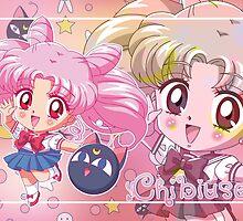 Chibiusa Sailor Moon Crystal by Rickykun