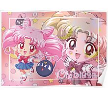Chibiusa Sailor Moon Crystal Poster