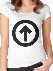 Above The Influence Women's Fitted Scoop T-Shirt