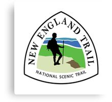 New England National Scenic Trail Sign, USA Canvas Print