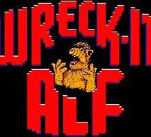 Wreck it Alf by SpaghettiFarmer