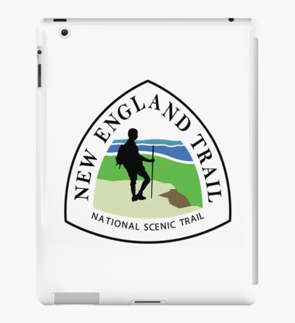 New England National Scenic Trail Sign, USA iPad Case/Skin