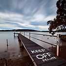 Keep Off - Woy Woy NSW by Malcolm Katon