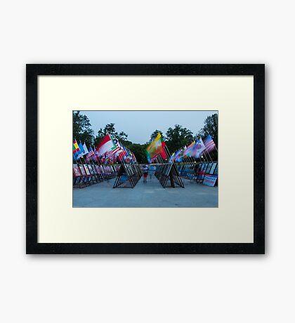 Commemoration of the Korean War Framed Print