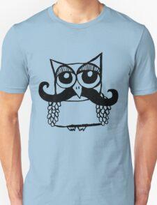 Moustache Owl T-Shirt