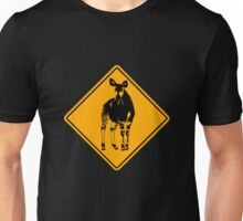 Okapi road sign Unisex T-Shirt