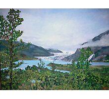 Mendenhall Glacier Photographic Print
