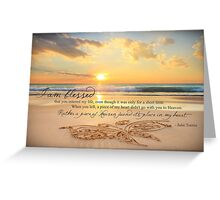 August 2013 - Lost For Words Greeting Card