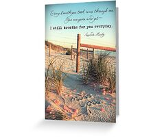 September 2013 - Lost For Words Greeting Card
