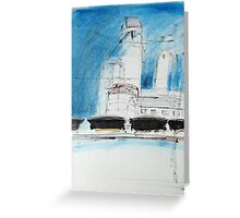Wheat Hoppers Waiting Greeting Card
