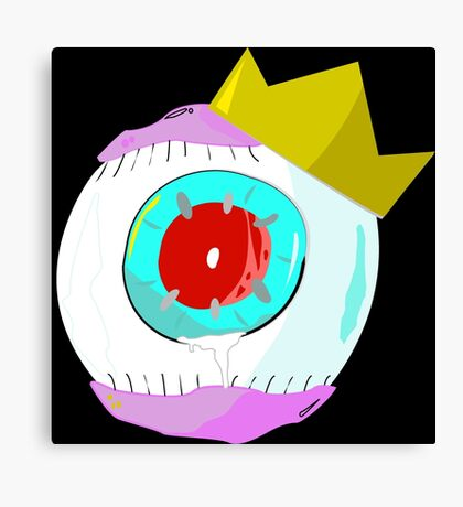 Eyeball Crown Canvas Print