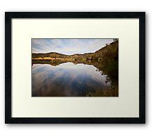 Reflections at Bedlam Framed Print
