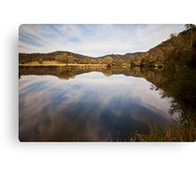 Reflections at Bedlam Canvas Print