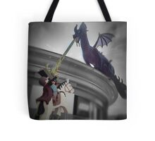 Maleficent and Prince Phillip made from LEGOS Tote Bag