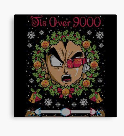 Tis Over 9000 Canvas Print