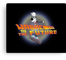 WABAC TO THE FUTURE Canvas Print