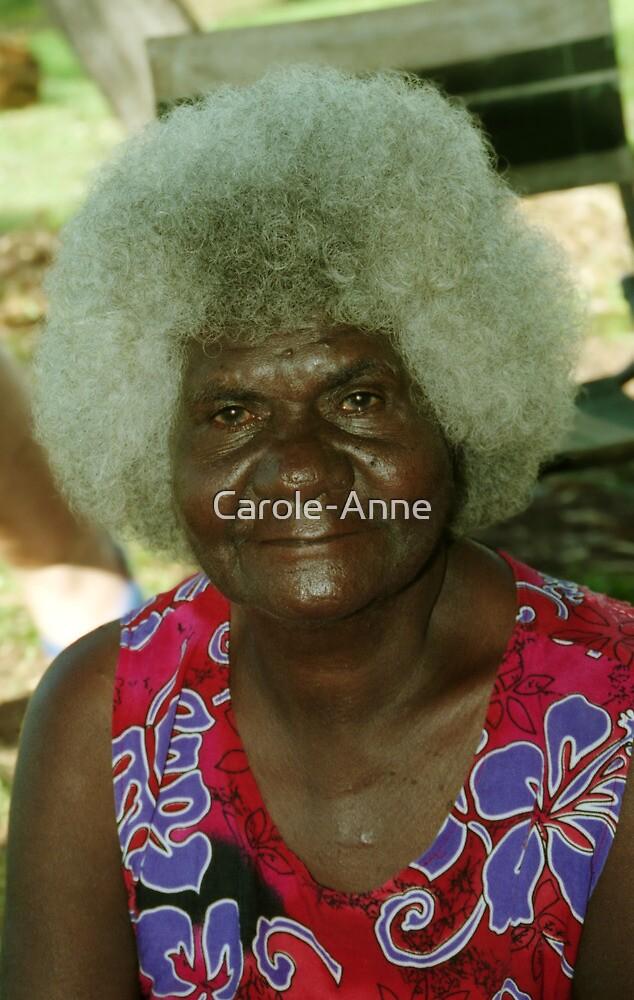 Aboriginal Elder by Carole-Anne