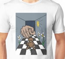 Teddy Bear And Bunny - The World We Create, The World We Live In, And The Universe Beyond Unisex T-Shirt