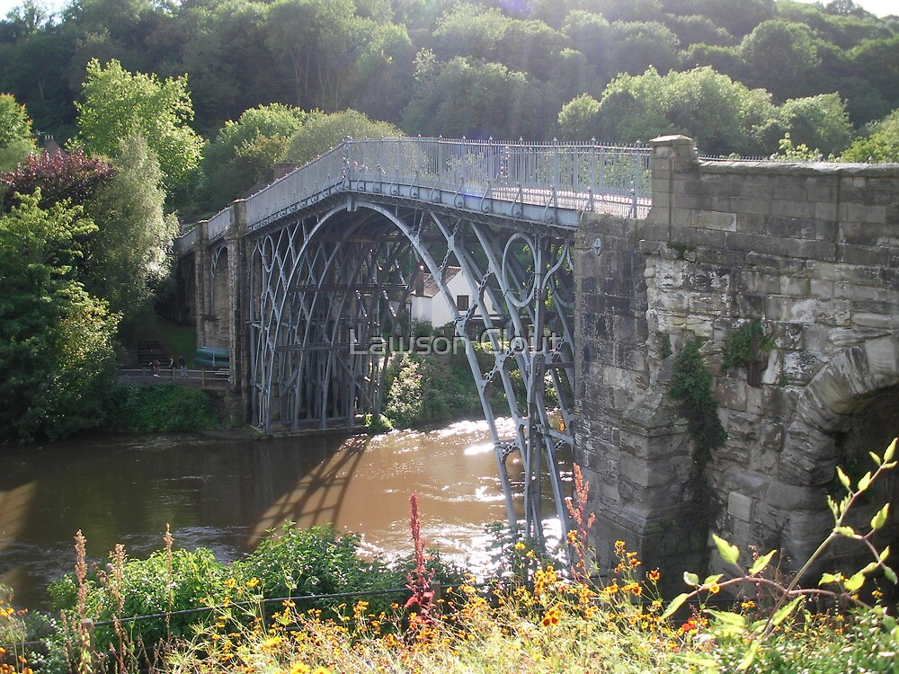 The Worlds first Ironbridge. by Lawson Clout