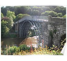 The Worlds first Ironbridge. Poster