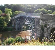 The Worlds first Ironbridge. Photographic Print