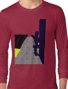 purple girl Long Sleeve T-Shirt