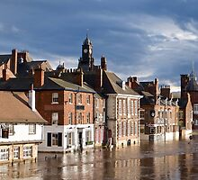 River Ouse in Flood by John (Mike)  Dobson