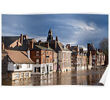 River Ouse in Flood Poster