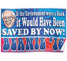 Save the Environment Bernie Sanders 2016 Poster