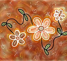 FLOWER FUN 7 by GUADALUPE  DIVINA