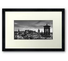 Edinburgh Panorama Framed Print