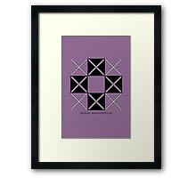 Design 224 Framed Print