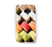 Assortment of Sushi Maki, futo maki, and Insideout Samsung Galaxy Case/Skin