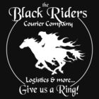 Black Riders Courier Company (white version) by wu-wei