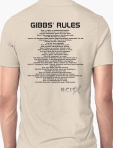 Gibbs' Rules - NCIS T-Shirt