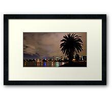 Albert Park Palms Framed Print