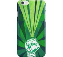 Green Lantern's light iPhone Case/Skin