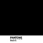 Pantone Plastica Black C iPhone case by Plastica Tees