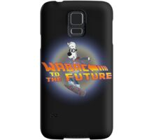 WABAC TO THE FUTURE Samsung Galaxy Case/Skin